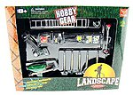 Landscaping Accessory Set -- Plastic Model Diorama -- 1/24 Scale -- #18432