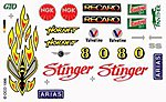 Pinewood Derby Stinger Decal -- Pinewood Derby Decal and Finishing -- #p311
