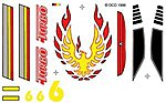 Pinewood Derby Turbo Decal -- Pinewood Derby Decal and Finishing -- #p313