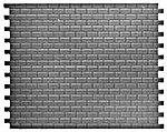 Intermediate Interlocking Concrete Block Sheets -- Model Railroad Scratch Supply -- #1005
