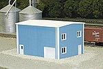 Modern Yard Office -- N Scale Model Railroad Building -- #8001