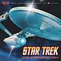 Star Trek USS Enterprise A -- Plastic Model Spacecraft Kit -- 1/350 Scale -- #pol808