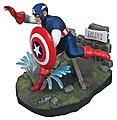 Captain America -- Plastic Model Celebrity -- 1/8 Scale -- #pol856