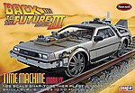Back Future III Final Act Time Machine -- Snap Plastic Model Car Kit -- 1/25 Scale -- #pol932-12