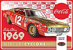 1/25 Bobby Allison's 1969 Coca Cola Mercury Cyclone Race Car