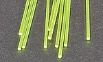 Fluorescent Rod 1/16 (10) -- Model Scratch Building Plastic Rods -- #90261