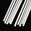 Styrene Triangular Rod -- .080 x 10'' (10)