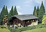 Log Cabin -- G Scale Model Railroad Building -- #331722