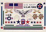 Military Mini Decals -- Pinewood Derby Decal and Finishing -- #10050
