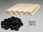 Wedge Kits Bulk (10) -- Pinewood Derby Car -- #10052