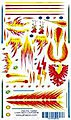 Fire Breather Decal -- Pinewood Derby Decal and Finishing -- #10053