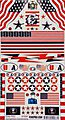 USA Decal -- Pinewood Derby Decal and Finishing -- #10087