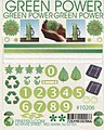 Green Power Decal