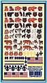 Animals Decals 5''x8'' -- Pinewood Derby Decal and Finishing -- #10212
