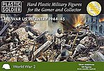 Late WWII US Infantry 1944-45 (145) -- Plastic Model Military Figure -- 15mm -- #1522