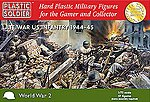 Late WWII US Infantry 1944-45 (57) -- Plastic Model Military Figure -- 1/72 Scale -- #7218