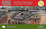 WWII Allied Sherman M4A4 & Firefly Tank (3) -- Plastic Model Tank Kit -- 1/72 Scale -- #7223
