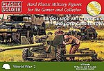 WWII British 6-Pounder Anti-Tank Gun And Crew -- Plastic Model Artillery Kit -- 1/72 -- #7226