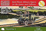 WWII British & Commonwealth CMP 15cwt Trucks (3) -- Plastic Model Military Kit -- 1/72 -- #7237