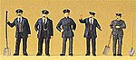 Railroad Personnel - Engine-Driver/Stoker -- Model Railroad Figures -- HO Scale -- #12191