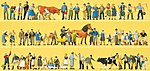 Working People ''Super Set'' -- Model Railroad Figures -- HO Scale -- #13001