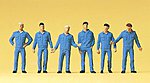 Working People - Mechanics -- Model Railroad Figures -- HO Scale -- #14031
