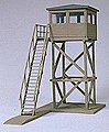 Military Guard Tower -- Model Railroad Building Accessory -- HO Scale -- #18338