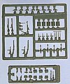 WWII Military Weapons and Gear Set #2 -- Model Railroad Building Accessory -- HO Scale -- #18358