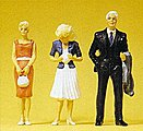 Passers-By -- Model Railroad Figures -- G Scale -- #45032