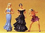 Wedding Guests -- Model Railroad Figures -- G Scale -- #45043