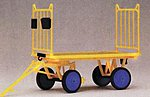 Baggage Wagon Kit -- G Scale Model Railroad Vehicle -- #45204