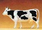 Standing Cow -- Model Railroad Figure -- 1/25 Scale -- #47003