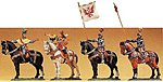 European George of Frundsberg On Horseback -- Model Railroad Figure -- 1/25 Scale -- #52351