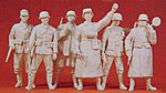 German Reich 1939-45 Guard -- Model Railroad Figures -- 1/35 Scale -- #64003