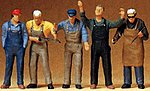 Craftsman -- Model Railroad Figures -- O Scale -- #65332