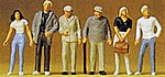 Standing People -- Model Railroad Figures -- 1/72 Scale -- #72401