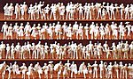 Unpainted Passengers -- Model Railroad Figures -- N Scale -- #79008