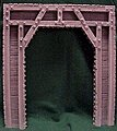 Timber Tunnel Portal -- G Scale Model Railroad Tunnel -- #801