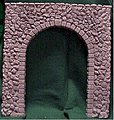 Random Stone Tunnel Portal -- G Scale Model Railroad Tunnel -- #805