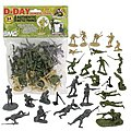 54mm D-Day Invasion of Normandy Figure Playset (34pcs) (Bagged) (BMC Toys)