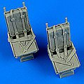 B25 Mitchell Seats w/Safety Belts -- Plastic Model Aircraft Accessory -- 1/48 Scale -- #48681