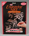 Copper Foil Engraving Hummingbird -- Scratch Art Metal Art Kit -- #copf17