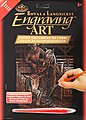 Copper Foil Engraving Art Rodeo -- Scratch Art Metal Art Kit -- #copf29