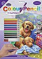 Pencil By Number Wash Day Fun 9x12 -- Pencil By Number Kit -- #cpn9