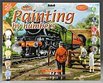 PBN Steam Train 15x11-1/4 -- Paint By Number Kit -- #pal15