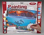 PBN Ocean Life 15x11-1/4 -- Paint By Number Kit -- #pal20