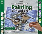 Adult PBN Pine Birds -- Paint By Number Kit -- #pal33