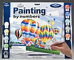 PBN Ballooning 15x11-1/4 -- Paint By Number Kit -- #pal5