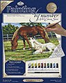 PBN Canvas Horses 11X14 -- Paint By Number Kit -- #pcl2