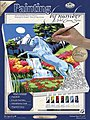 PBN Canvas Unicorn 9x12 -- Paint By Number Kit -- #pcs9